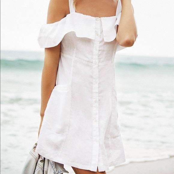 Velvet Heart Linen Dress